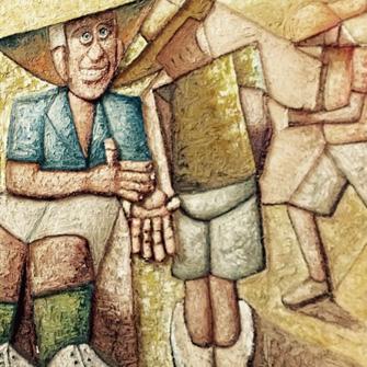GILES AUTY, TIM STORRIER, JOHN OLSEN – DESERT PAINTERS