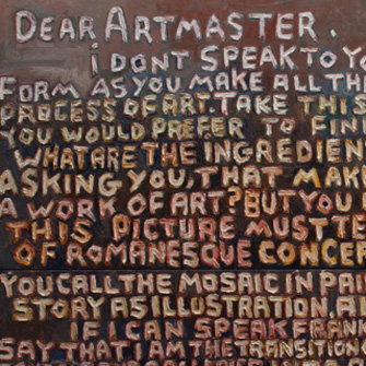 LETTER TO ARTMASTER NO.8 ROME